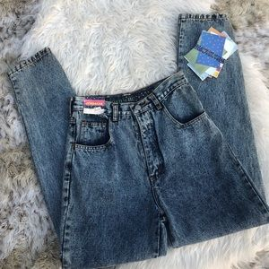 Vintage Jordache acid wash mom jeans